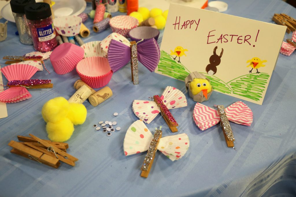 Easter Crafts for Kids Using Household Items