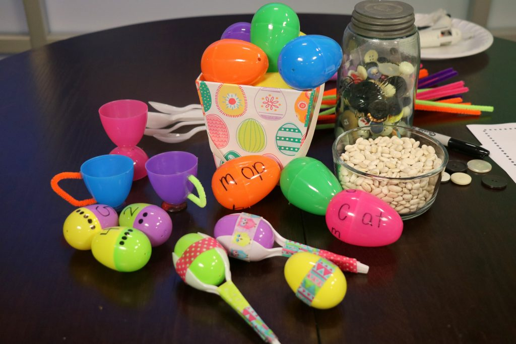 Re-Purposing Plastic Easter Eggs