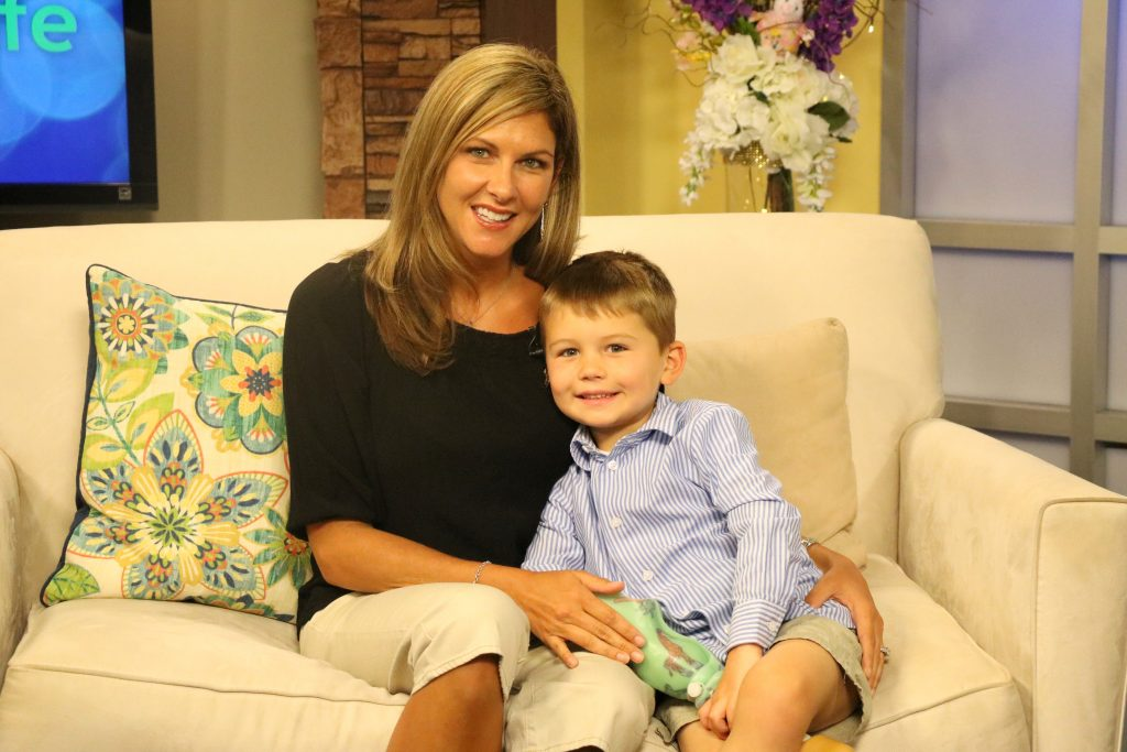 4-Year-Old Nathan Simm of Ocean City, Spreading Limb Loss Awareness
