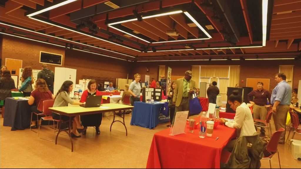 Travels With Charlie: Salisbury University Resource Fair