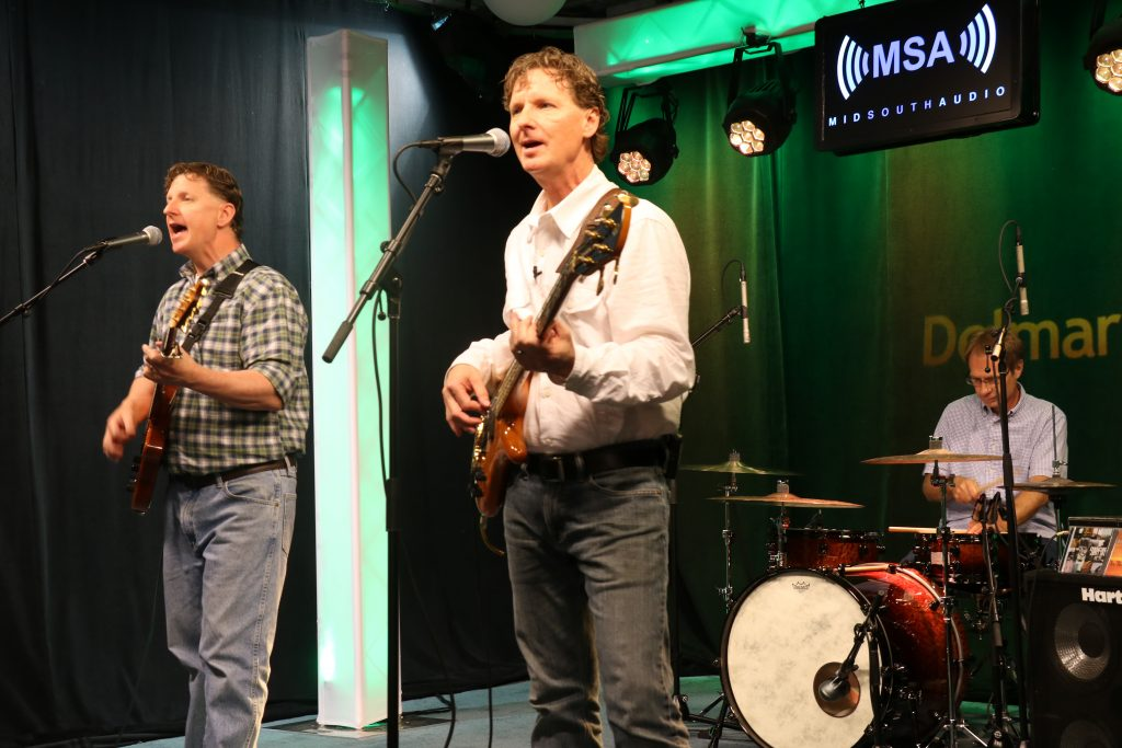 Bill Dickson and Musical Think Tank Rock the Mid-South Audio Stage
