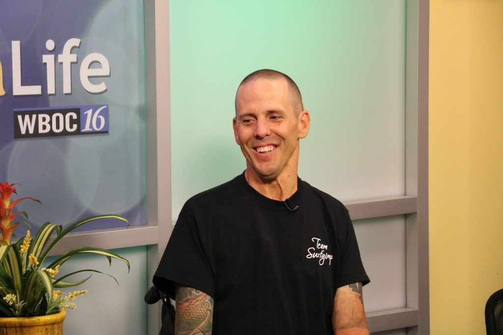 """Jay Liesner Shares His Story of Being an Adaptive Surfer and """"Team Surfgimp"""""""
