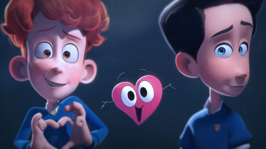 Movie Review – In a Heartbeat (Animated Short Film)