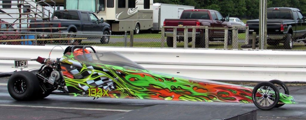 Drag Racing: Chase Huber takes Jr. Dragster 1 Win: U. S. 13 Dragway