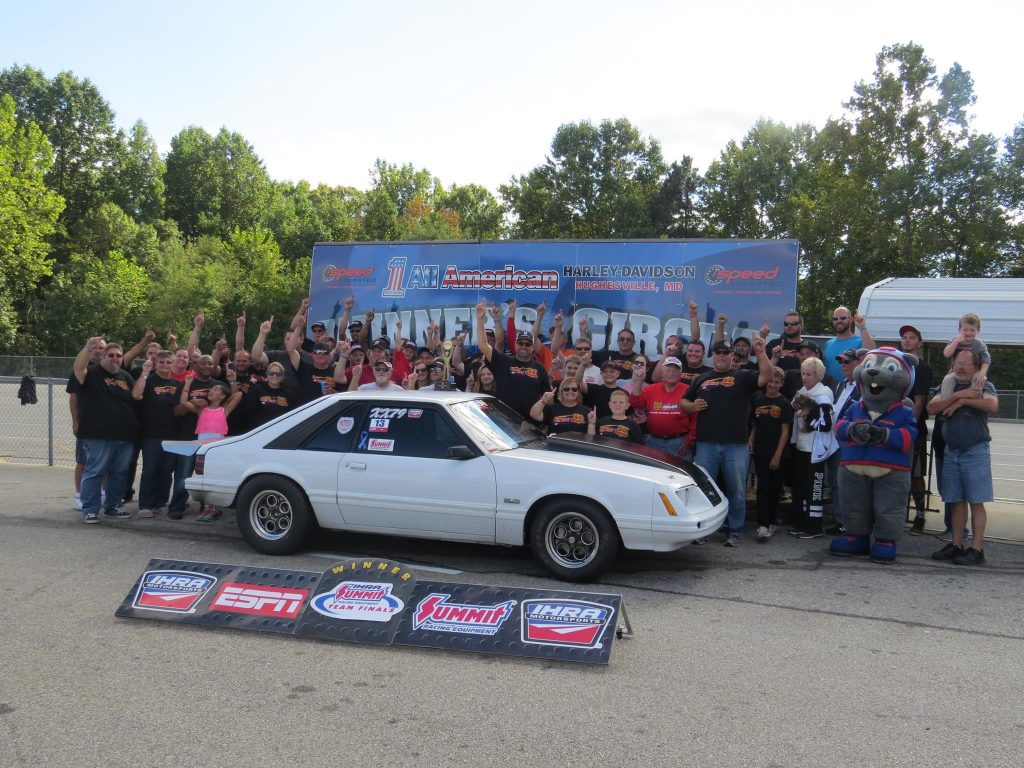 Foskey Takes Mod ET Win at IHRA Bracket Finals