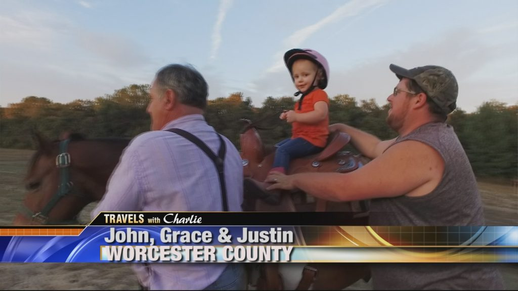 Travels With Charlie: Baby Grace on Horseback