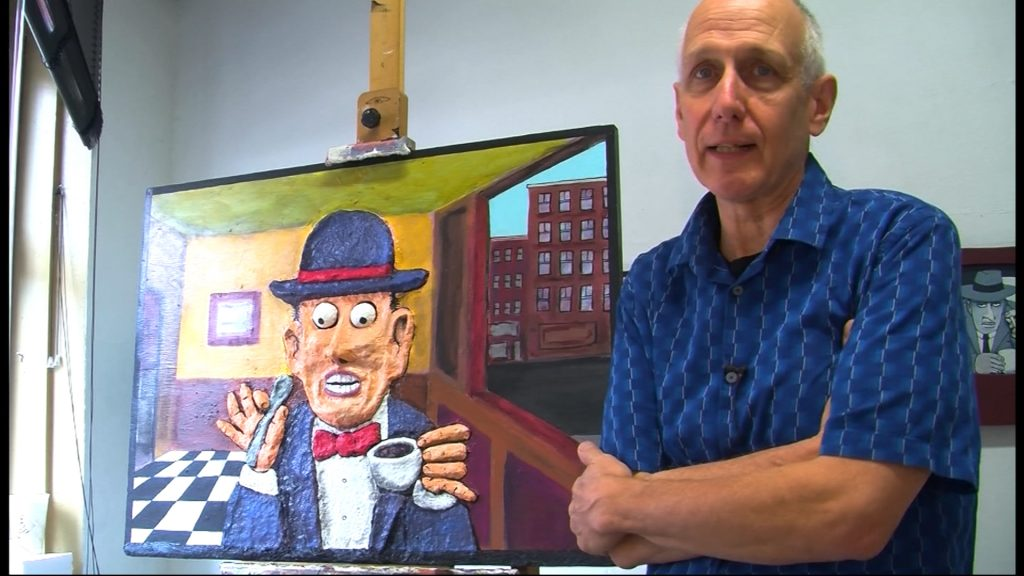 Travels With Charlie: Paul Volker, Snow Hill Artist