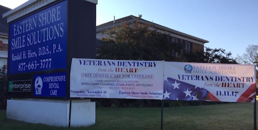 Paid Content by Eastern Shore Smile Solutions – Free Dental Care for Veterans