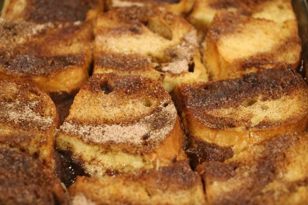 Caramel Soaked French Toast with Laurie Webb from Trinity UMC