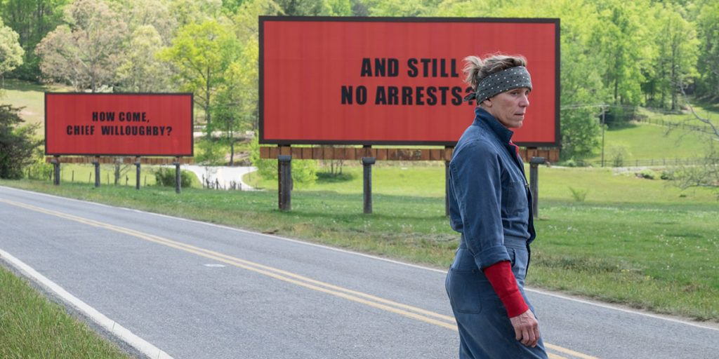 Movie Review – Three Billboards Outside Ebbing, Missouri