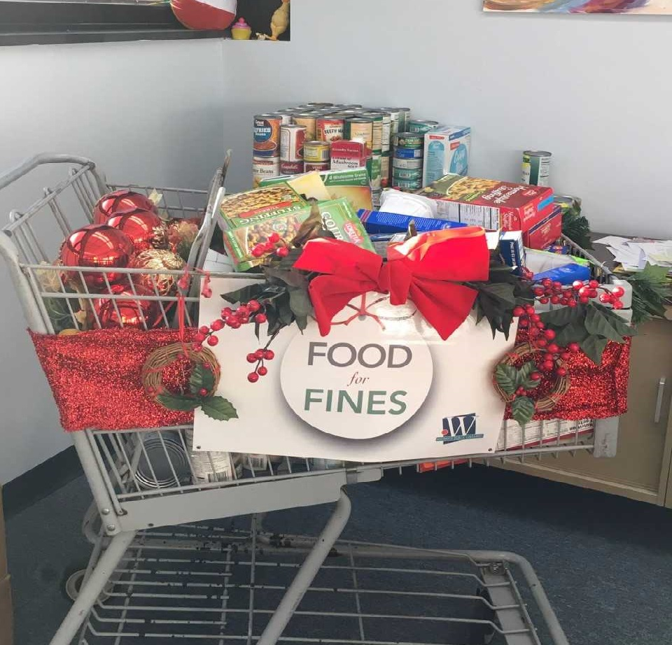Food For Fines Drive at Wicomico Public Libraries Begins Dec. 3