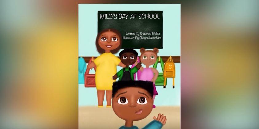 "Laurel Author Shawnee Walker Talks About Her Book, ""Milo's Day at School"""
