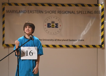7th Grader Wins Maryland Eastern Shore Regional Spelling Bee