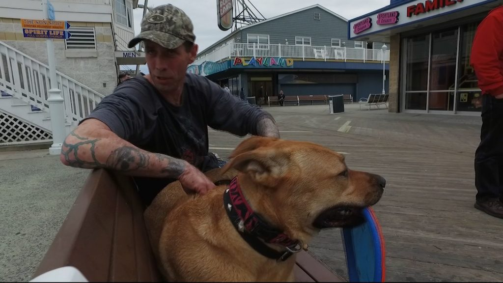 Travels With Charlie: Timmy Schultz & Daizy Dukes, Boardwalk Dog