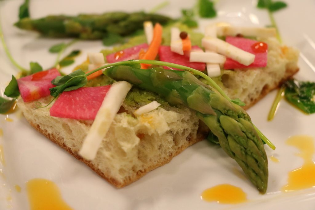 Spring on a Crostini, Pan Seared Rockfish, and Deconstructed Berries and Cream: DelmarvaLife Facebook Live Recipes – April 17, 2018
