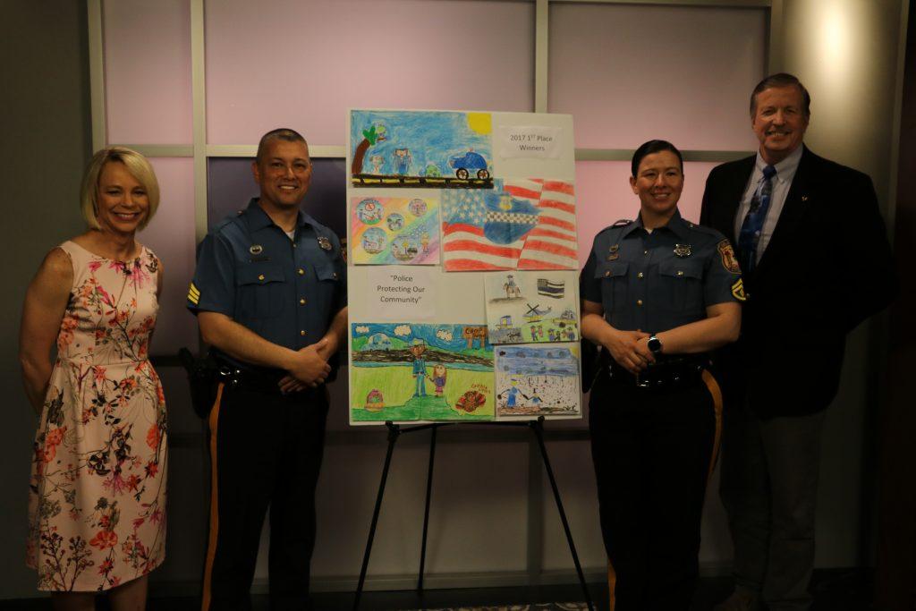 Delaware State Police Community Outreach Children's Art Contest