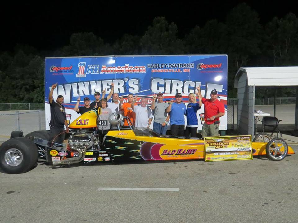 Bradford Takes $10,000 Win at Maryland International Raceway