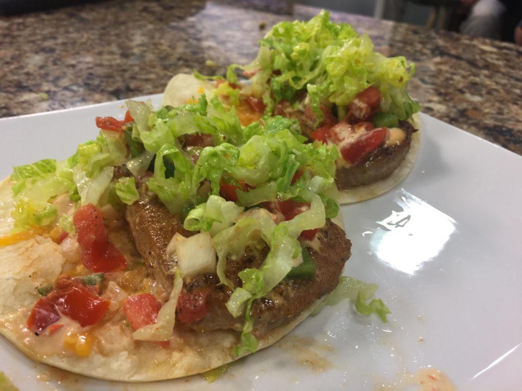 Blackened Tuna Tacos with The Street Kitchen
