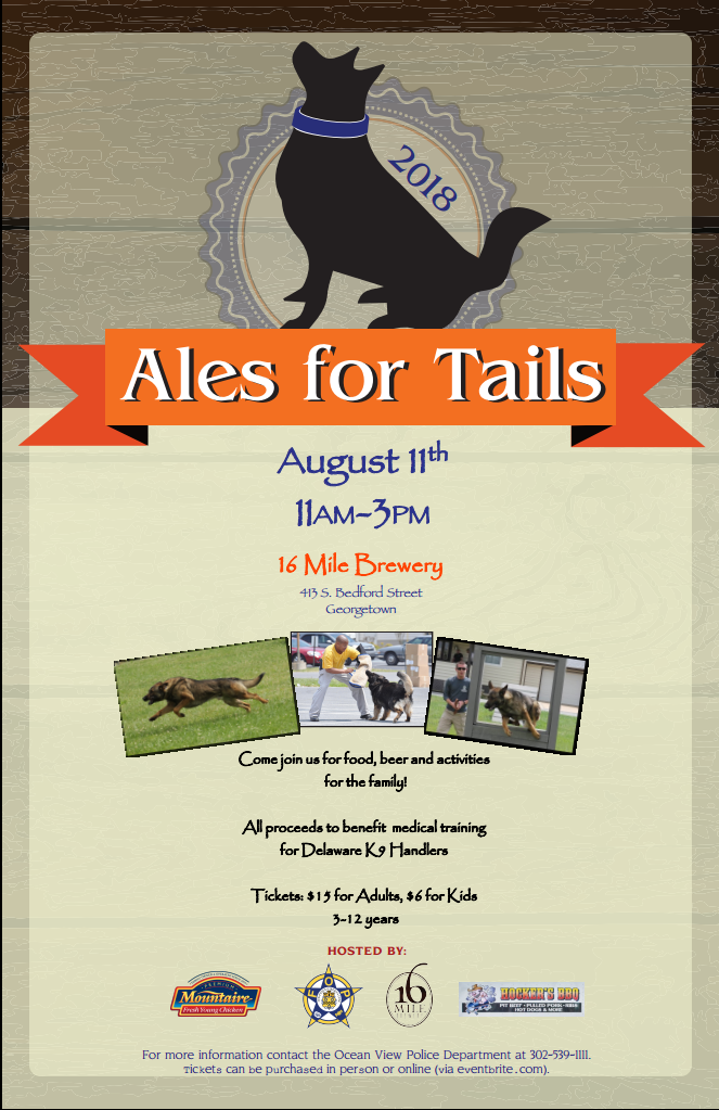 2018 Ales For Tails Fundraiser Event