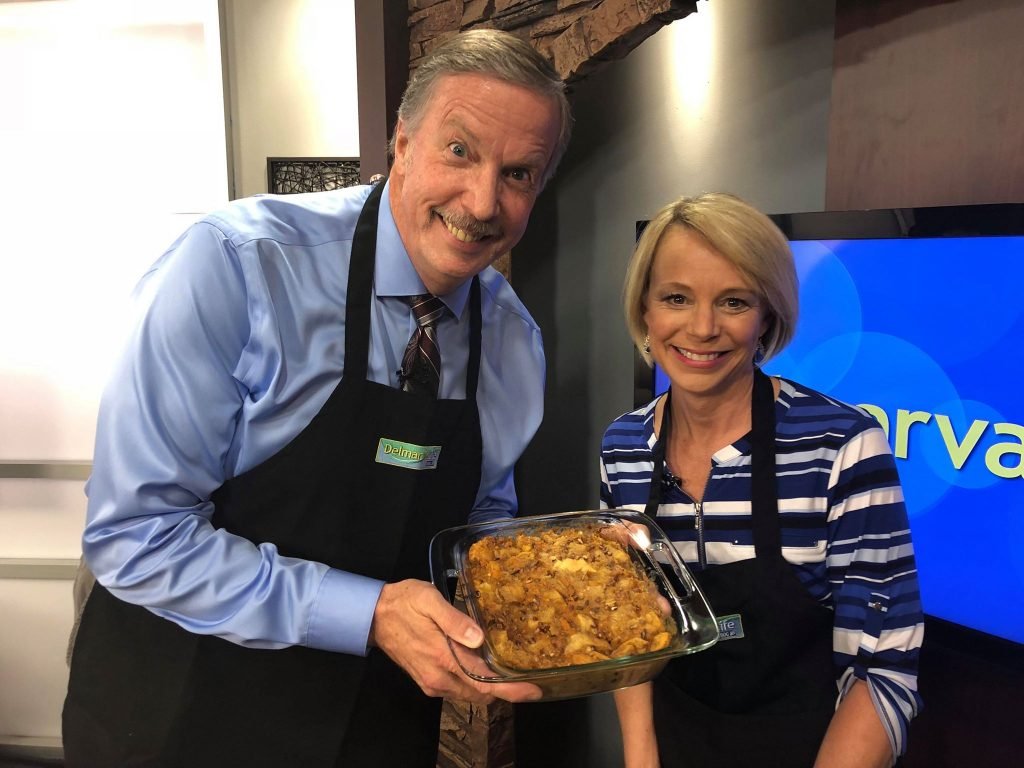Cookbook Author Alyese Justis Makes Sweet Potato Bread Pudding and Loaded Grits