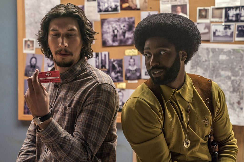 Movie Review – Blackkklansman