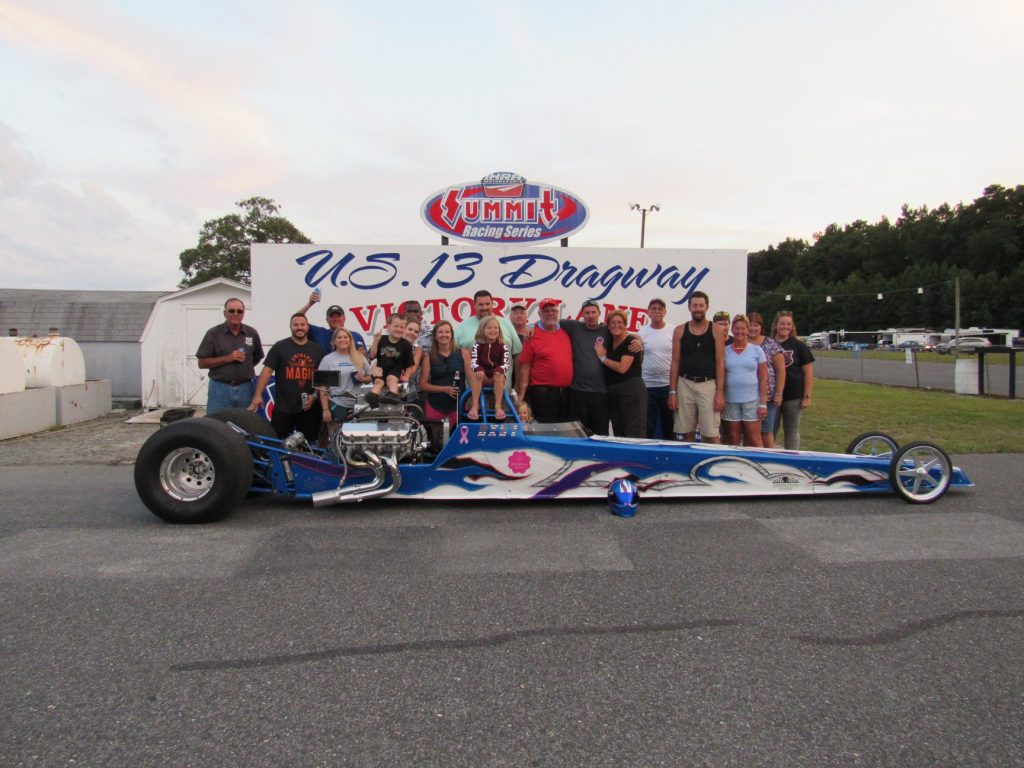 Ennis Takes First Top ET Win at U. S. 13 Dragway