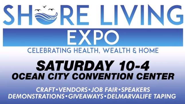 WBOC's Shore Living Expo in Ocean City, Sept. 29
