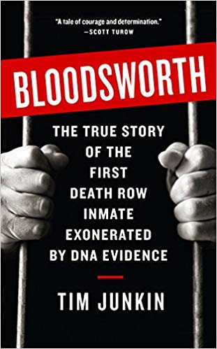 "Author Tim Junkin Talks About His Book, ""Bloodsworth: The True Story of the First Death Row Inmate Exonerated by DNA"""