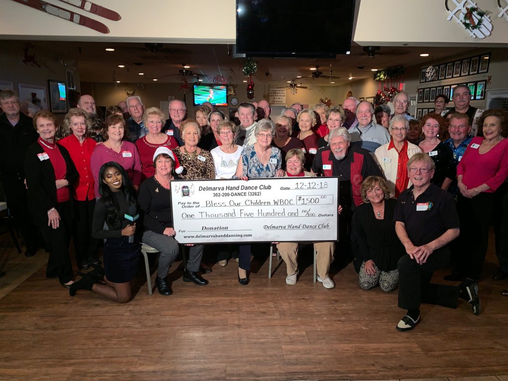 Delmarva Hand Dance Club – Bless Our Children Donation