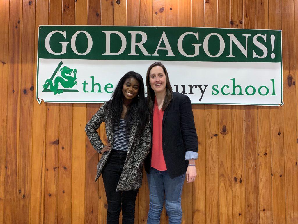 Kelsey Tainsh Visits The Salisbury School