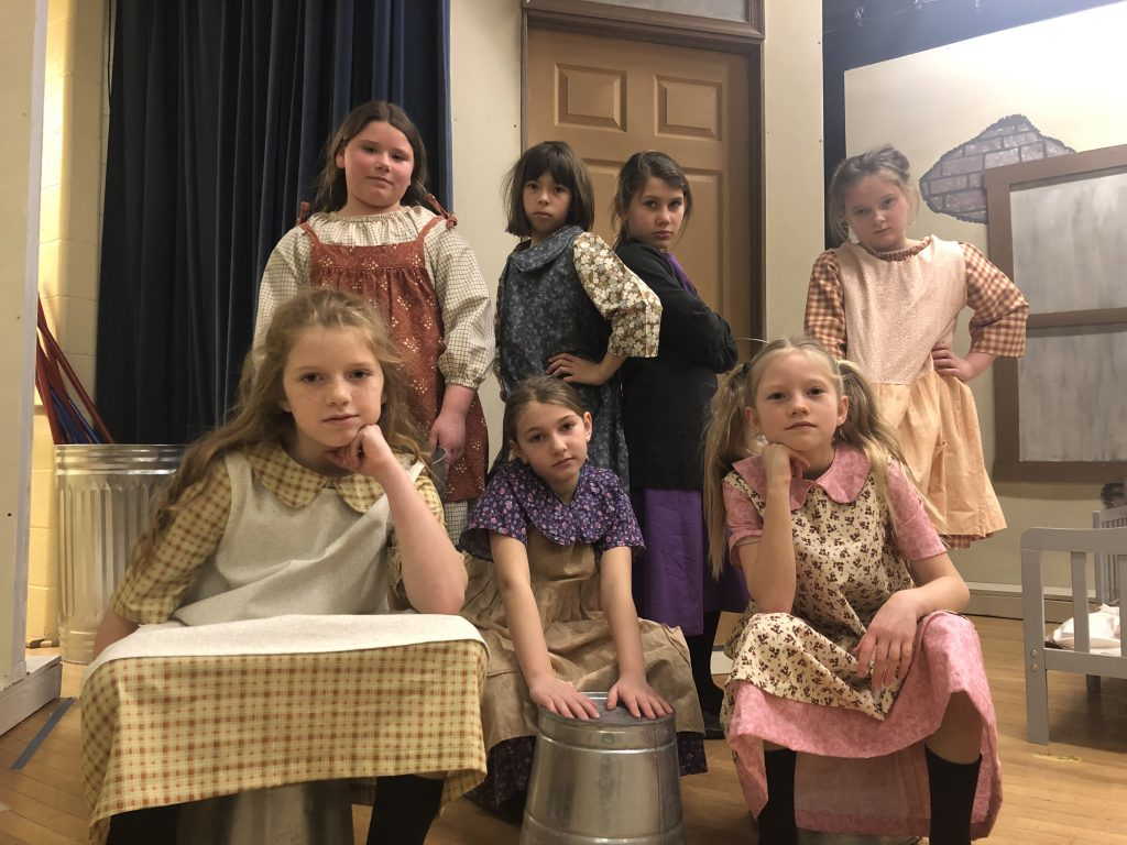 "Most Blessed Sacrament Catholic School Presents ""Annie, Jr."""