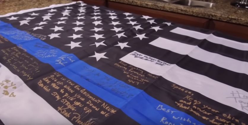 Support Flags for Spencer Wiersberg