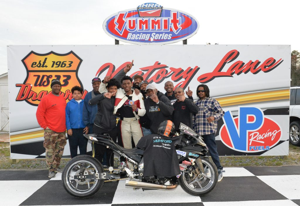 Mumford Takes Win in OBHF Pro Bike to Kick-off the 2019 Season at U.S. 13 Dragway
