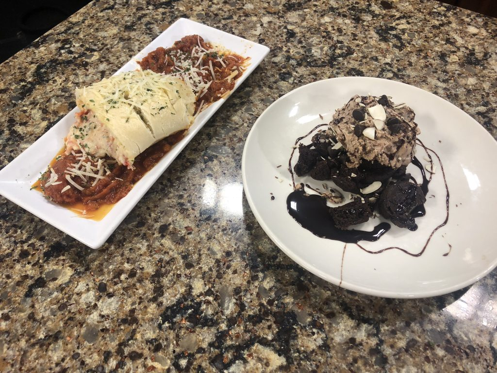 Stuffed Lobster Roll and Death by Chocolate with Sanibel's Oceanside 32