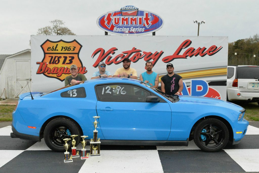 Sales Gets Back-to-Back Wins at U.S. 13 Dragway
