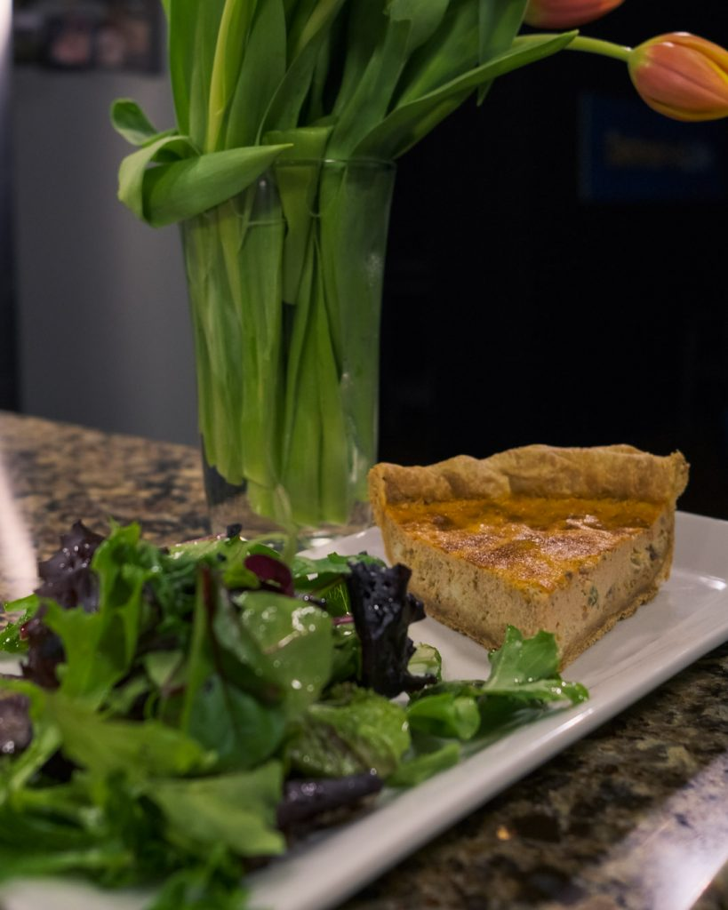Maryland Crab Quiche with Turnbridge Point
