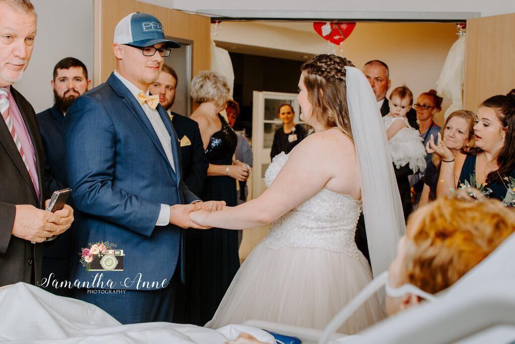 Nurses at PRMC Plan Pop-Up Wedding in Hospital Room