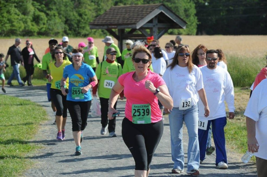 DE-Feet Breast Cancer 5K Run/Walk, May 19