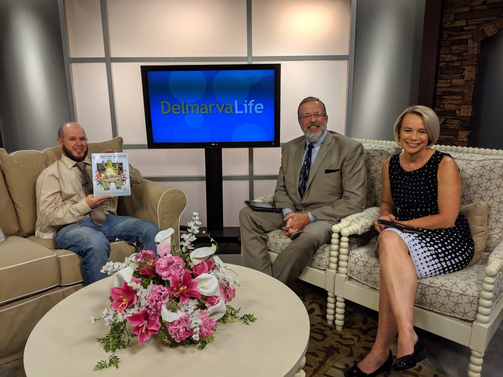 "Author Gary Truitt Talks About His Book, ""My First Day of School."""