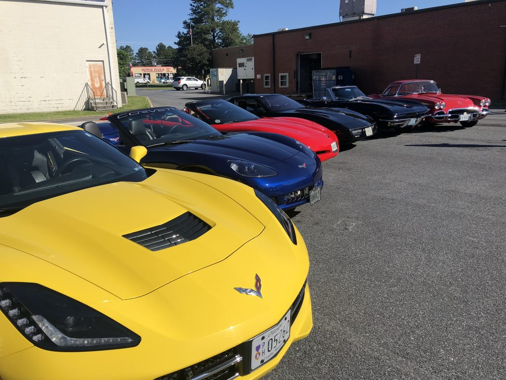 Eastern Shore Corvette Club's Annual Car Show, June 1