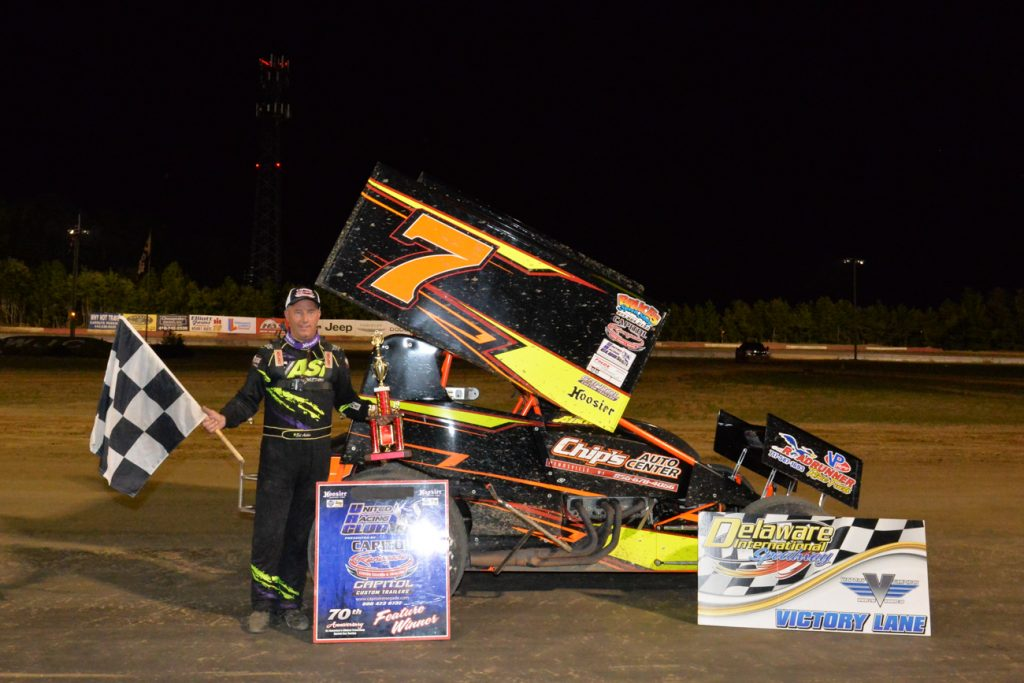 Aiken Picks Up URC Victory on R.C. Holloway Night at Delaware International Speedway