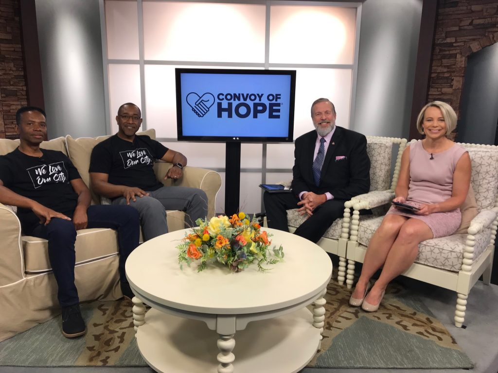 Convoy of Hope Stops in Dover, July 13