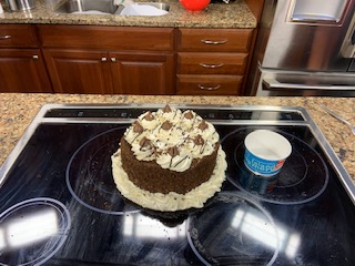 Ice Cream Cake with the Island Creamery