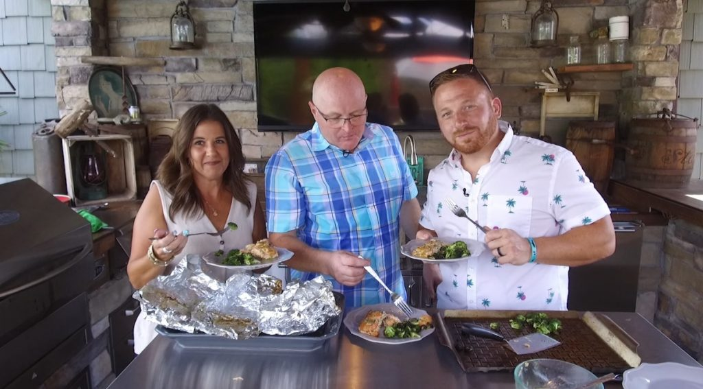 Outdoor Cooking with Brian and Heather Spicer of Spicer Bros. Construction