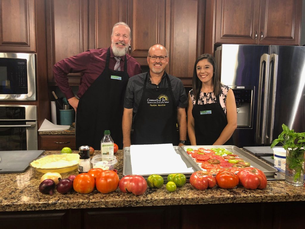 Tomato Pie with Pastor Martin Hutchison