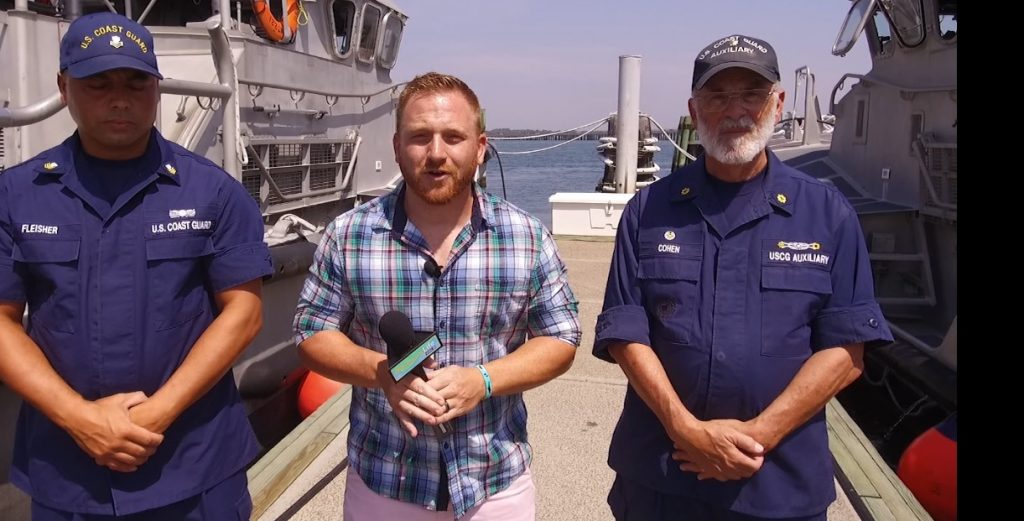 US Coast Guard and Coast Guard Auxiliary Help Keep Boaters Safe