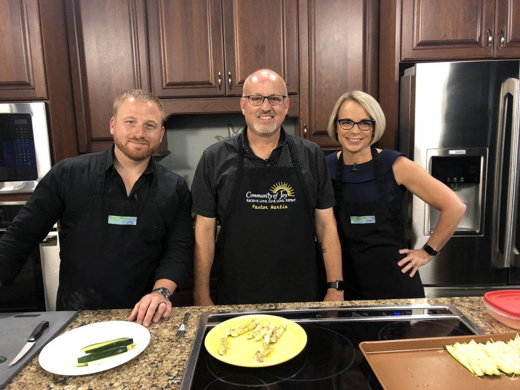Pastor Martin Hutchison Prepares Recipes From Fresh Garden Vegetables