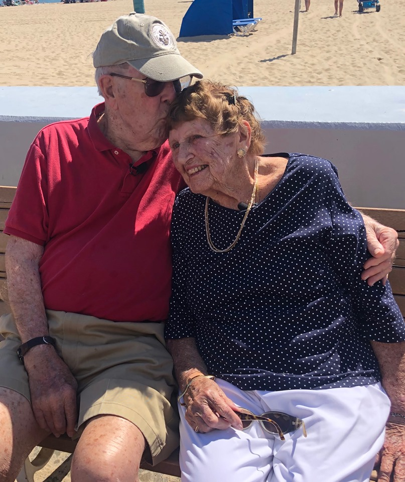 Dyers Celebrate 65 Years of Love That Began in Ocean City