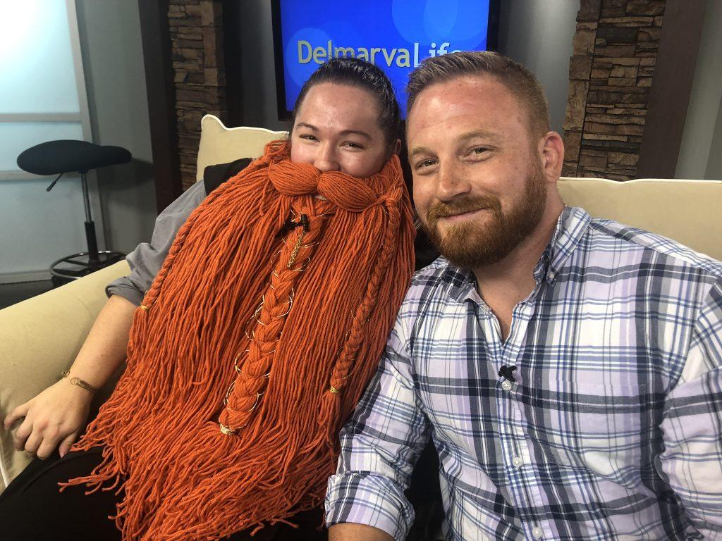 Bearded Men's Society Raises Money for Diakonia