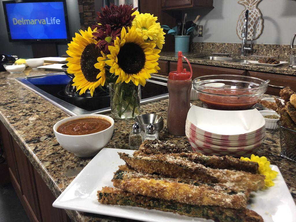 """Personal Chef Deborah Lee Walker Prepares """"Healthy"""" Veggie Fries"""